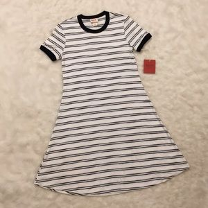 Target Stretchy Striped T-Shirt Dress ✨